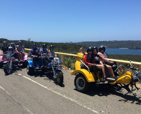 Troll Tours Harley trike ride, Sydney