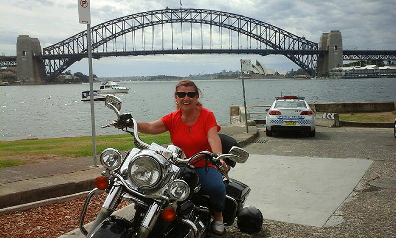 Harley ride Sydney