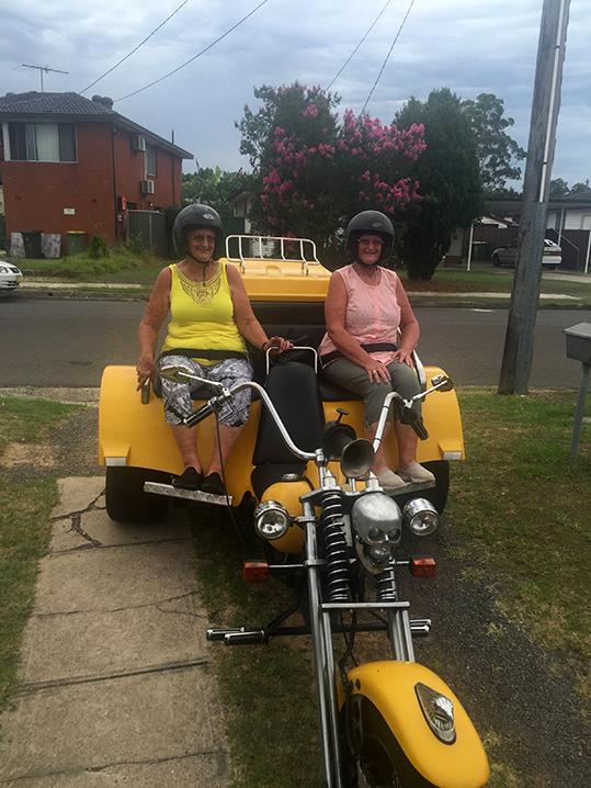 trike ride Royal National Park Sydney