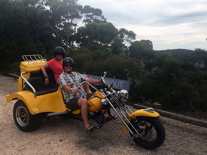 The Blue Mountains trike ride