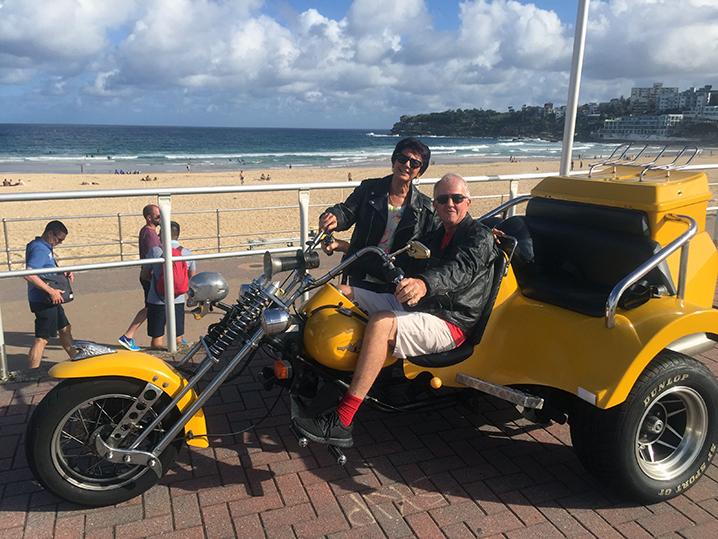 Harley-trike-tour-birthday-present-Sydney
