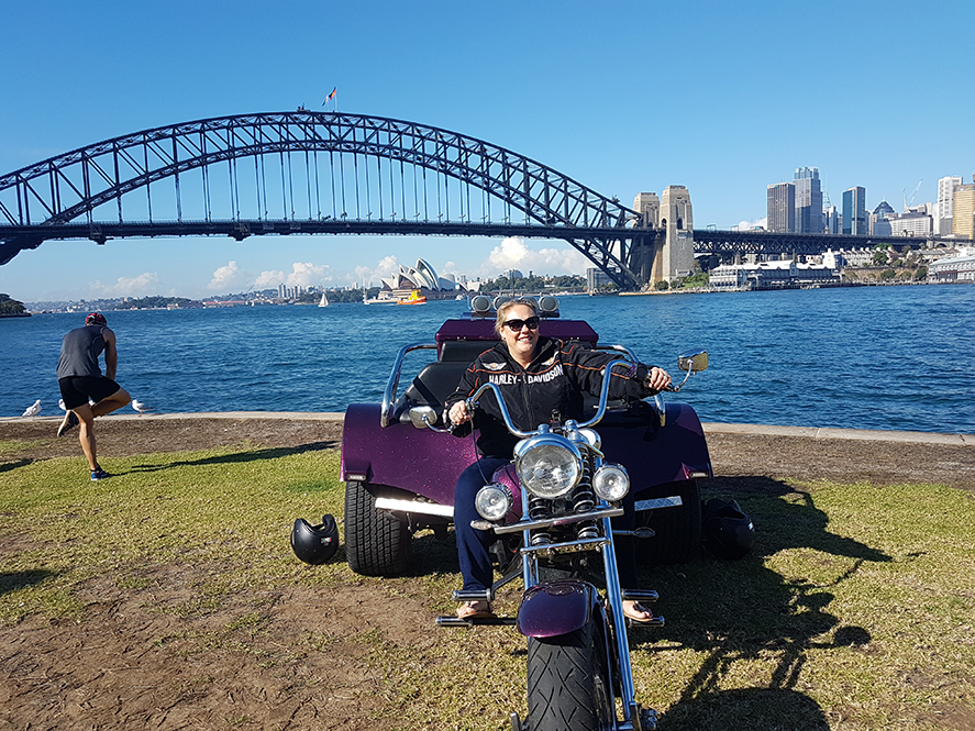Harley trike ride anniversary weekend