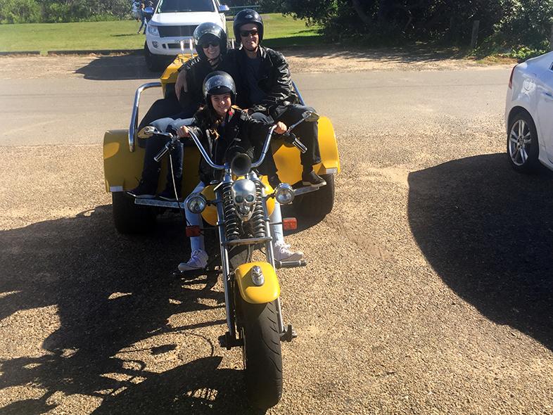 trike tour Home and Away TV Show