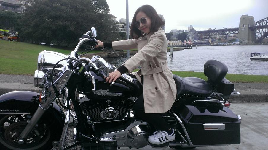 Harley tour, Bondi Sydney