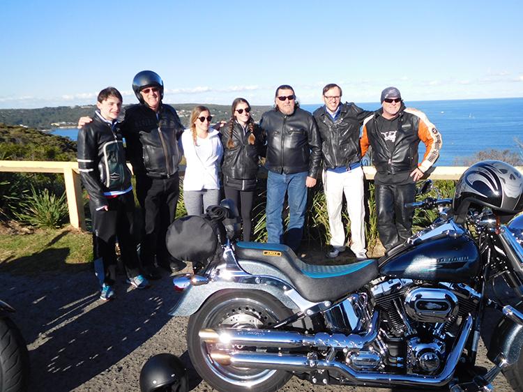 Harley ride - Manly Harley transfer, Sydney