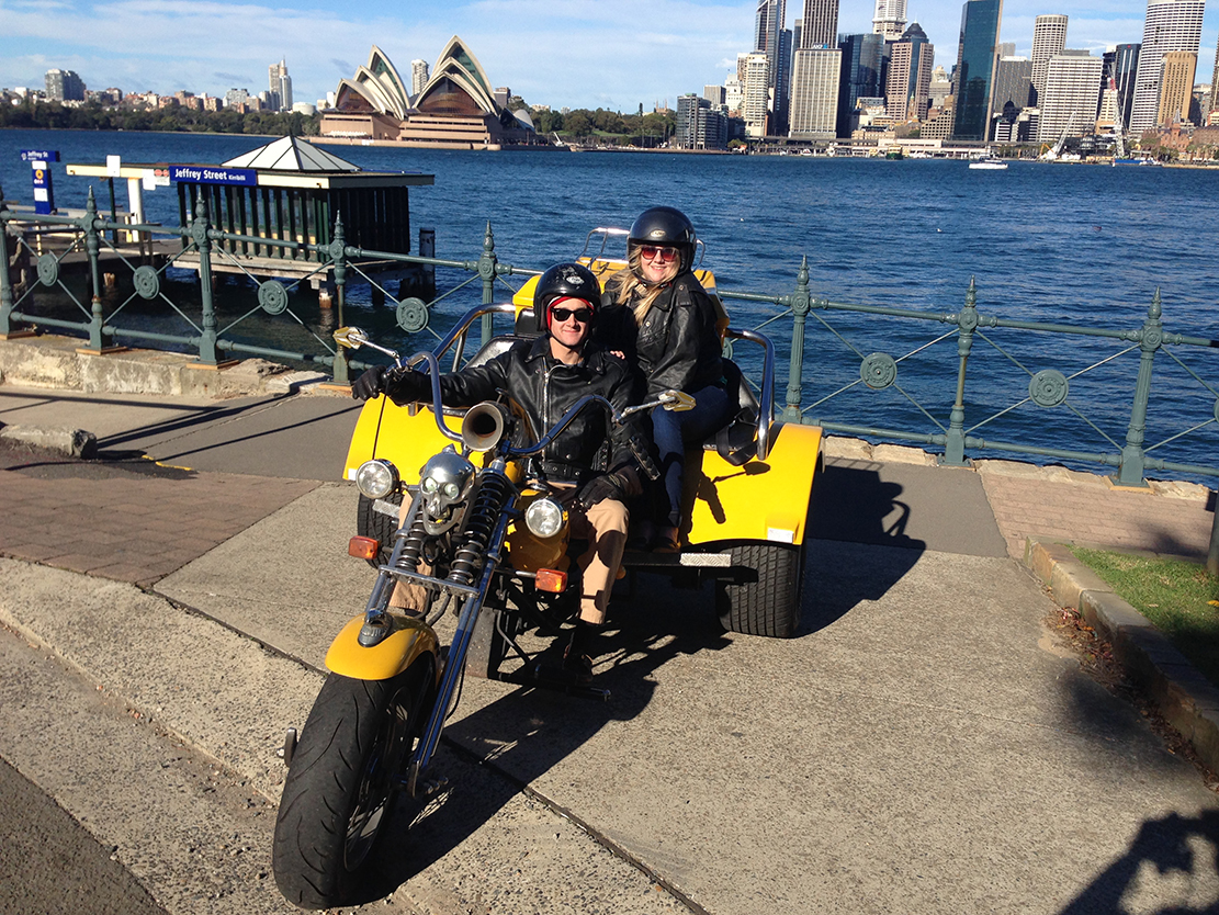 Harley trike tour, an adventure memory
