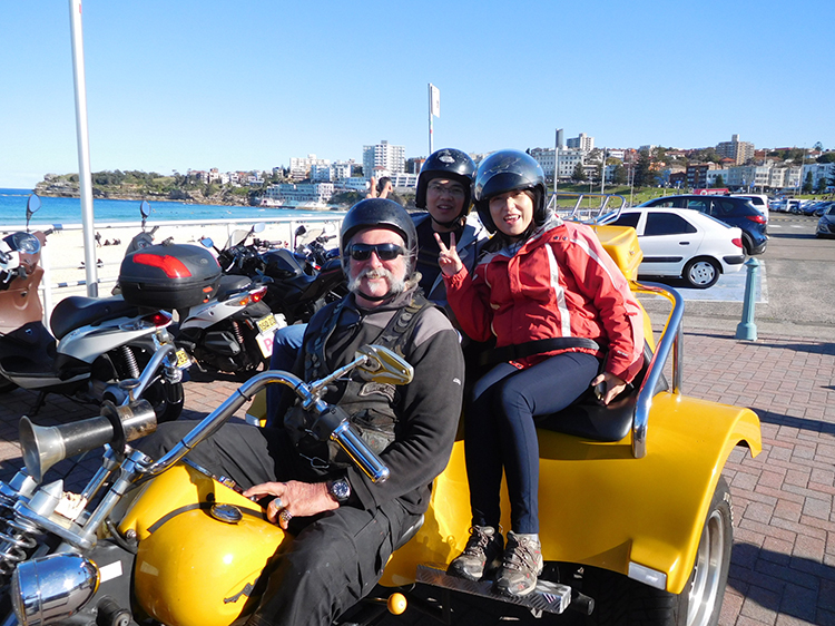 Harley-tour-Chinese-tour-group-Sydney