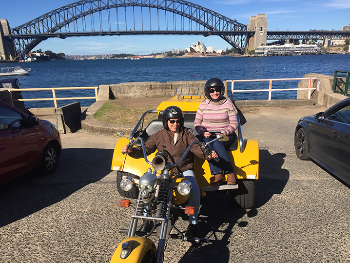 Bondi Panorama Tour on a trike
