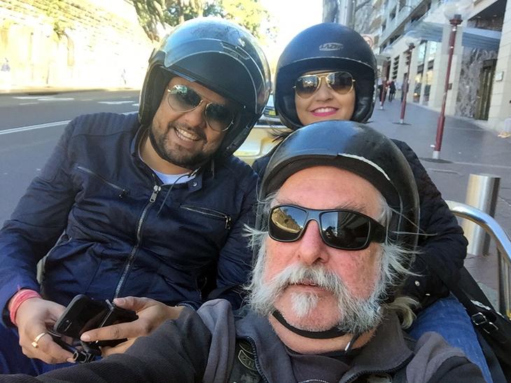 Watson's Bay, Sydney - Harley trike tour