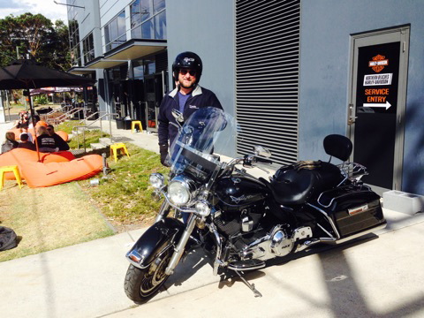 Northern Beaches Harley tour