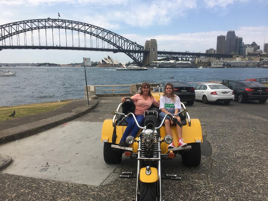 Sydney trike exploration