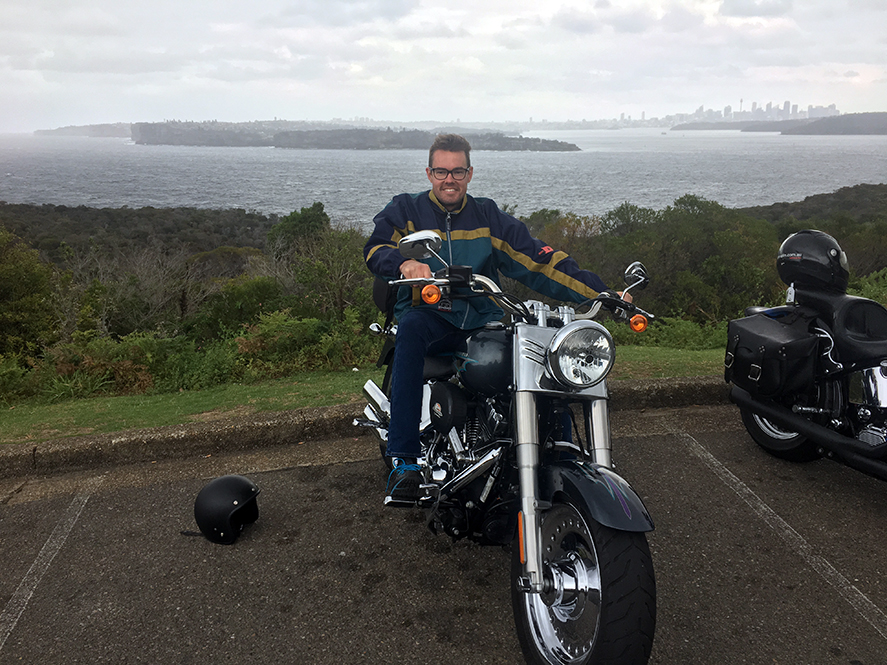 Harley ride Manly Northern Beaches