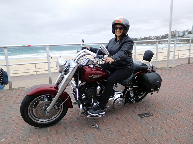 Harley tour surprise Hens weekend