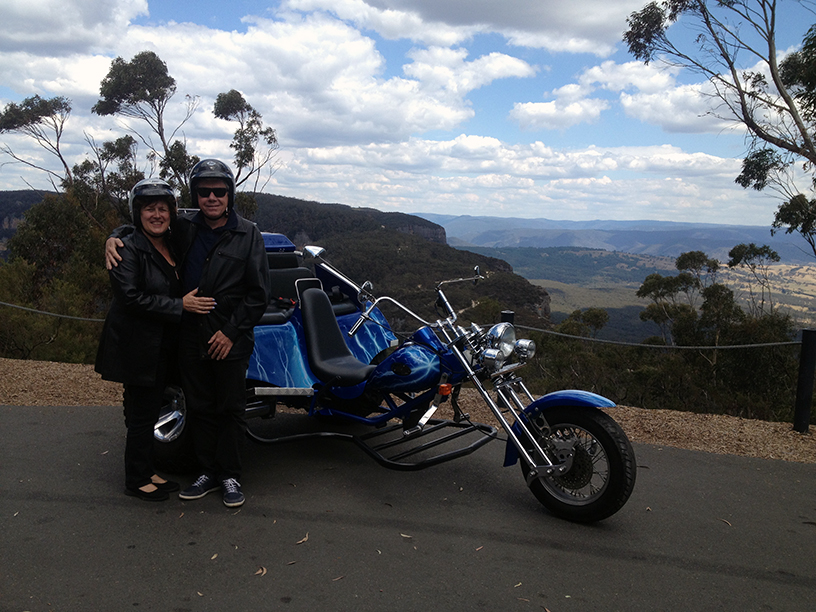 Blue Mountains trike surprise