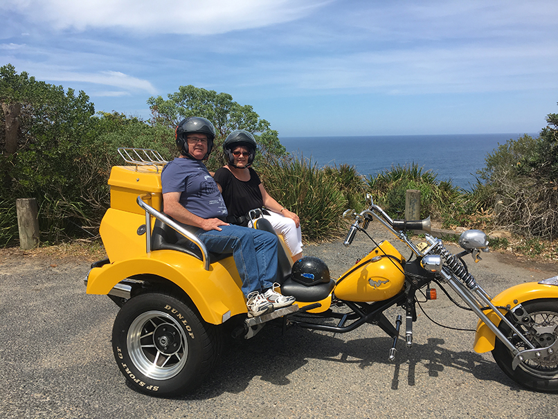 Beach Beauty trike tour