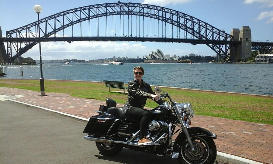 Harley ride Bondi Sydney