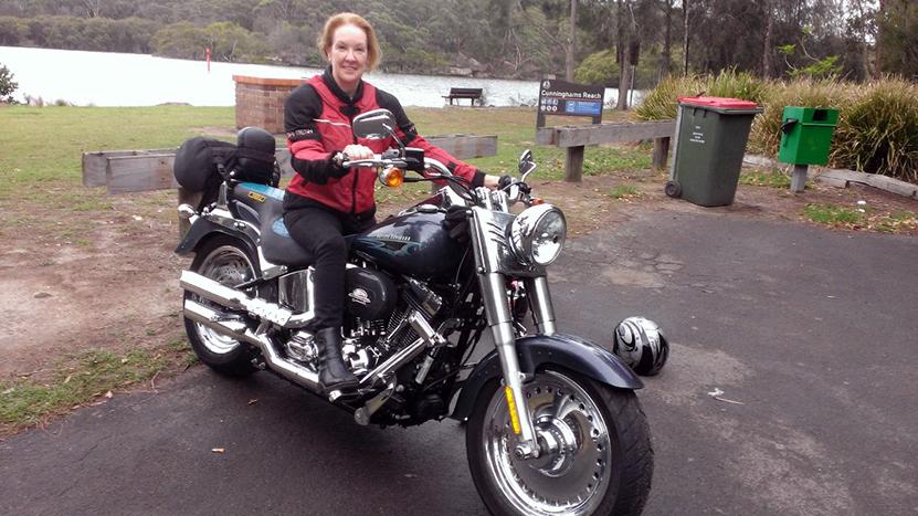 Harley ride Sydney Australia
