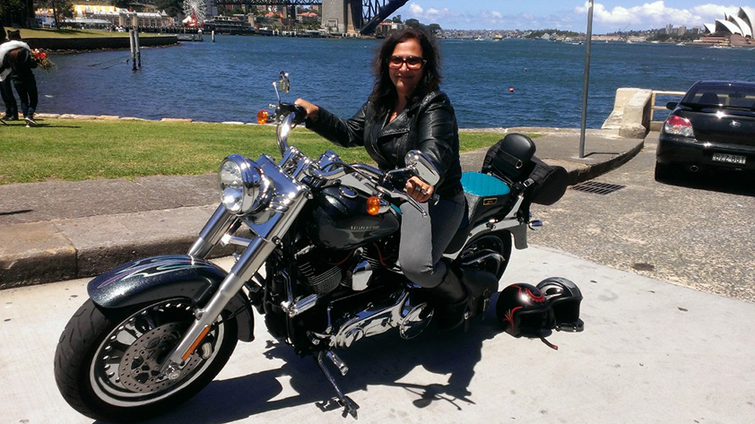 Harley ride present