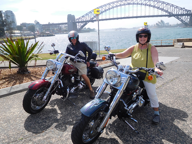 3 Bridges Harley tour