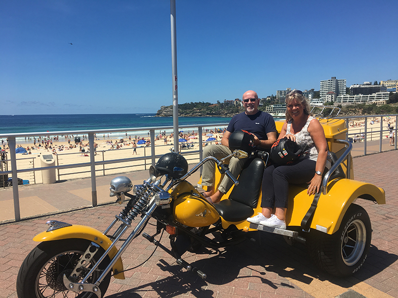Sydney trike tour