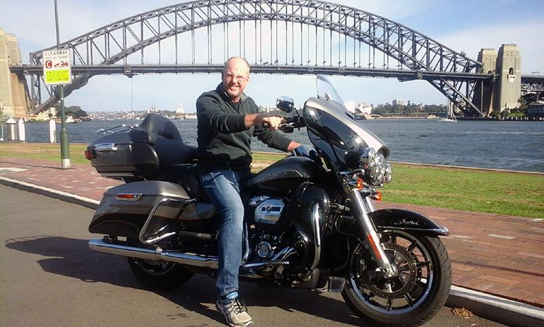 Harley ride surprise birthday present