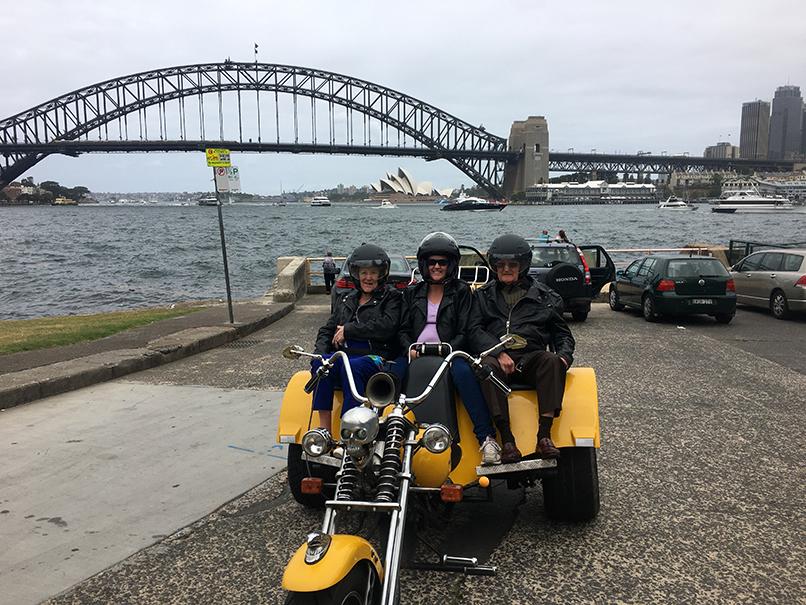trike ride Sydney