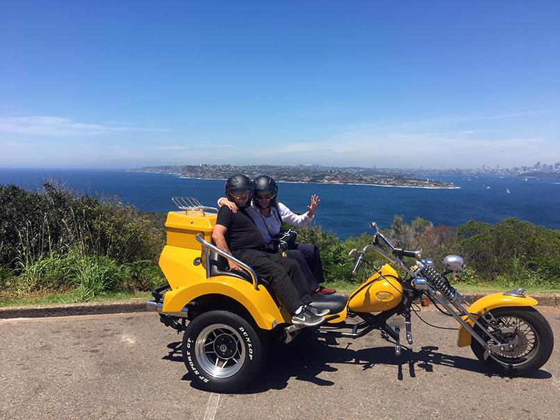 trike tour Sydney experience