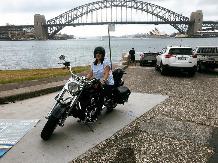 Harley ride present Sydney