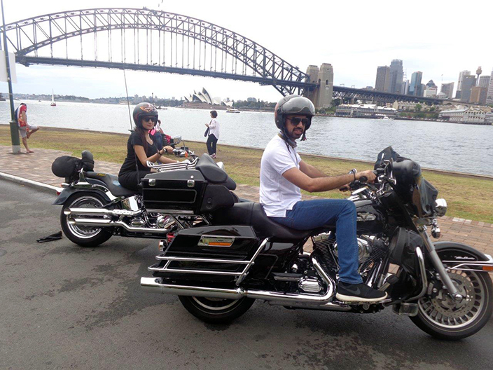 Harley tour honeymoon experience
