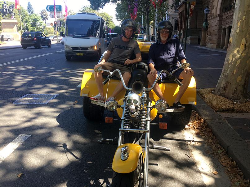 trike 70th birthday tour