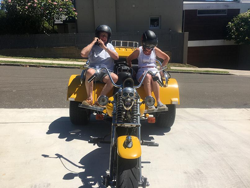 trike ride present Bondi