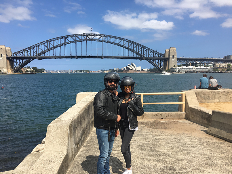 Sydney Harbour Bridge ride