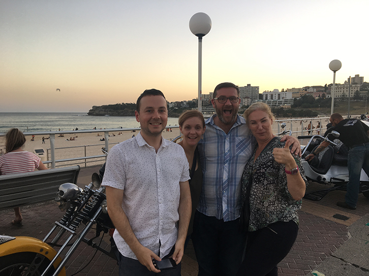 trike tour Bondi Beach Sydney