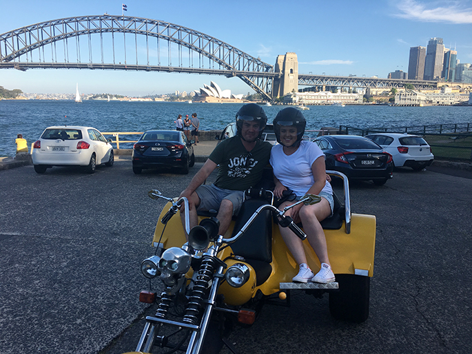 trike tour experience