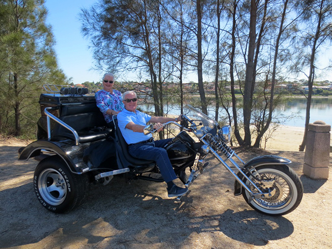 3 bridges trike tour