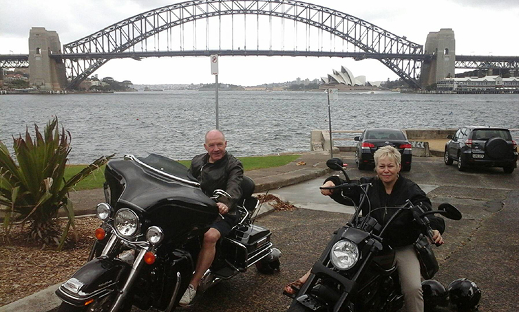 Harley ride to celebrate 60th birthday