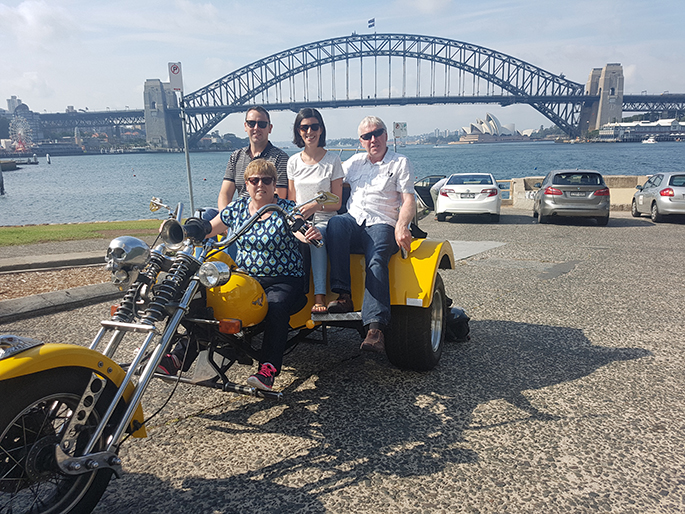 trike tour for family holiday