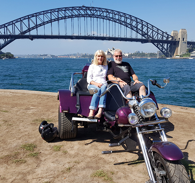 trike tour present Sydney Harbour Bridge