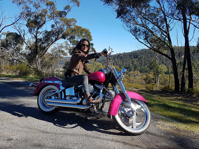 Harley Blue Mountains birthday tour