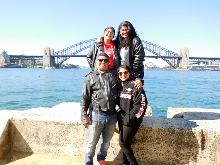 Harley ride to see the Sydney sights