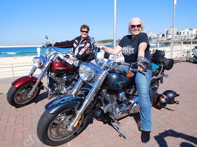 Harley tour Eastern Panorama Sydney