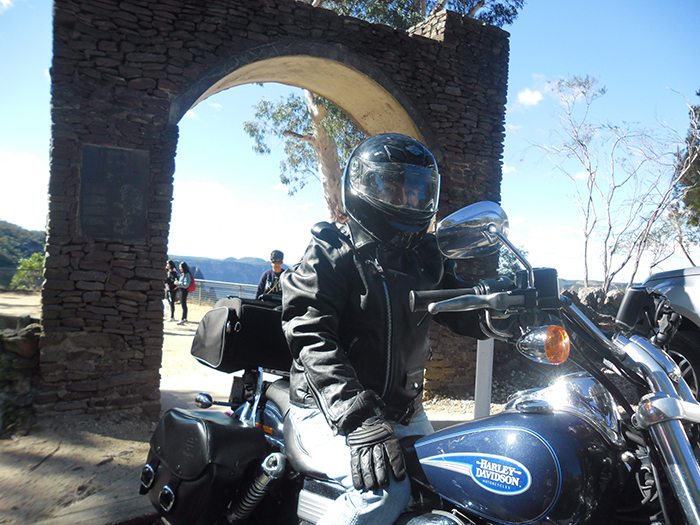 Harley tour present Blue Mountains Sydney