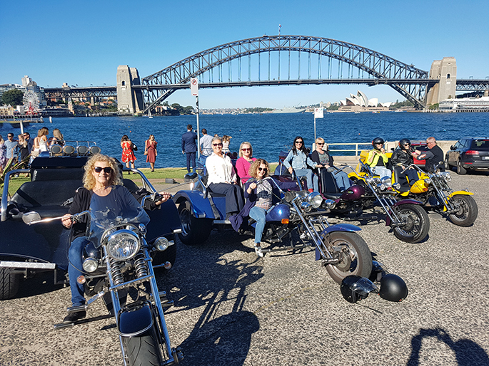 trike ride girls weekend away