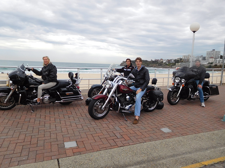 Harley Tour while holidaying in Sydney
