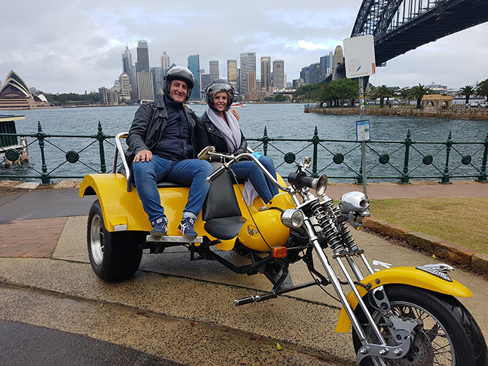 trike ride birthday present Sydney