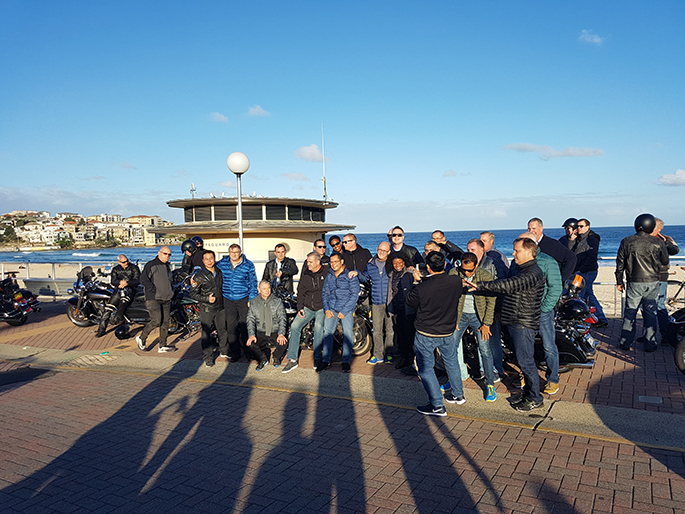 Harley, trike, sidecar tour Bondi to Bridge Climb Sydney
