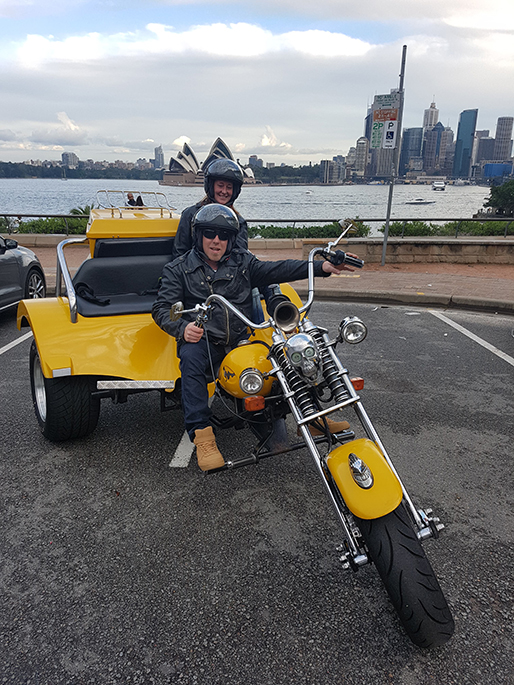 trike tour over the Sydney Harbour Bridge
