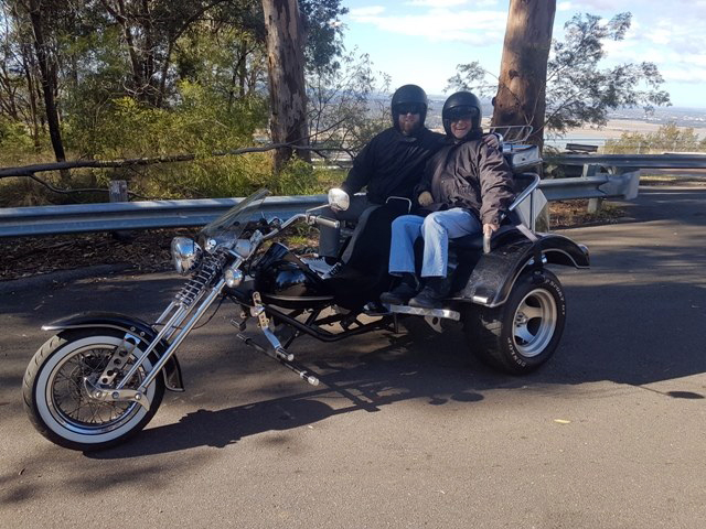 60th birthday Blue Mountains trike tour