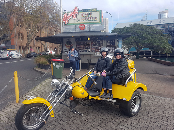 holiday trike tour Sydney