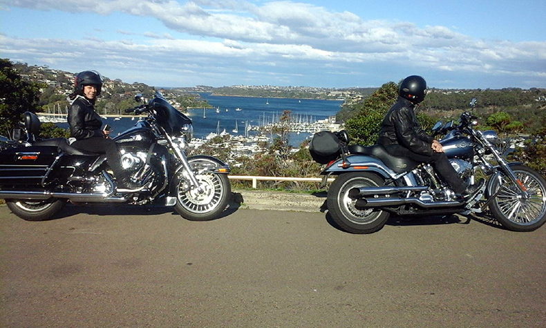 Harley tour Northern Beaches to Bondi